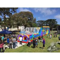 China Outdoor Playground Big Inflatable Obstacle Course On Land For Teenagers / Kids wholesale