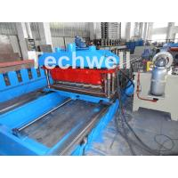 Buy cheap High Speed Metal Tile Cold Roll Forming Machine With Servo Flying Cutting Type product