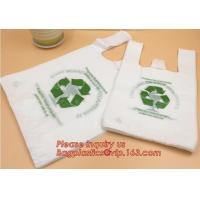 Buy cheap Custom Printed Biodegradable Plastic Bags En13432 Corn Starch Based On Roll product