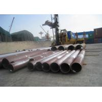 China Round Hot Rolled Seamless Steel Tube 56'' Large Caliber Heavy Thickness For Boiler on sale
