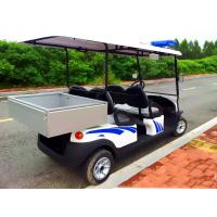 Buy cheap Battery Powered Custom Electric Golf Carts , Electric Patrol Car 8 Hours Charging from wholesalers