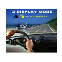 Buy cheap 3.5 Inch Audi A5 GPS HUD Heads Up Car Display Two Display Mode Multi Color Auto Power On / Off product
