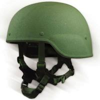 Buy cheap soft ballistic durk blue bullet proof helmet with ear guard for anti-riot product