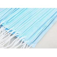 Buy cheap Adult 3 Ply Non Woven Face Mask High Filtration Capacity For Air Pollution product