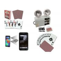 China Las Vegas Casino Side Marked Barcode Spy Playing Cards For Poker Analyzer on sale