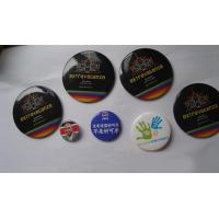 Quality 2017 custom luxury button badge with artwork printing manufacturer and all kinds of size for sale