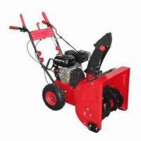 Buy cheap 5.5HP gasoline snow thrower with 179cc and electric start product
