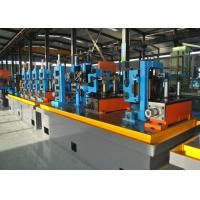 Buy cheap Steel ERW Pipe Mill / Straight Seam Welded Pipe Production Line product