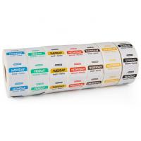 Buy cheap Thermal Printing Restaurant Label Stickers Waterproof Customized Size Eco - Friendly product