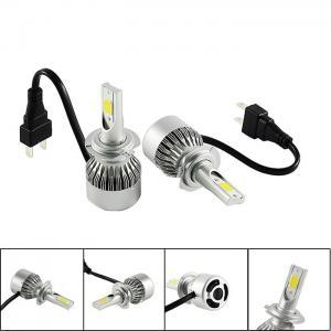 Buy cheap Auto Spare Parts Bright COB LED Headlight Bulbs 880 881 H4 H7 LED Car Headlight Bulbs product