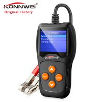 Buy cheap Hand - Held Car Battery Tester Battery Charger Tester Auto Data Print Support product