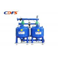 Buy cheap Carbon Steel Automatic Sand Filter Blue Color Customized Voltage With Thick Layer product