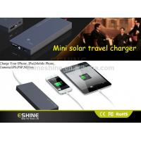 Buy cheap 2500mAh Portable Solar Power Bank 0.6W DC 5 V for MP3 / MP4 player product