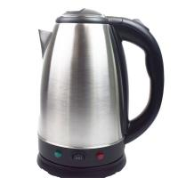 China High Strength Stainless Steel Electric Kettle Push Button Lid Keep Warm on sale