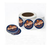 Buy cheap Waterproof Packaging Stickers Labels Adhesive Paper Stickers Fda Certificated product