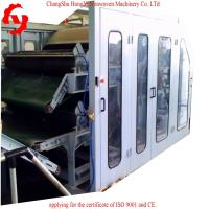 Buy cheap 1.5m Nonwoven Fiber Cotton Cotton Carding Machine Capacity 60m/Min CE / ISO9001 product