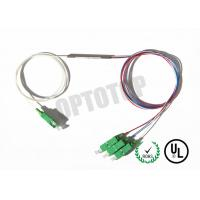 Buy cheap 1X3 1310 nm Single Mode Fiber Coupler , Fused FBT Splitter For FTTH / CATV product