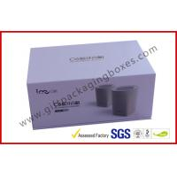 Buy cheap Blue Tooth Speaker Magnetic Rigid Gift Boxes White And Blue Custom Packaging Boxes product