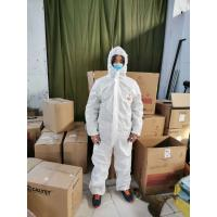 China Personnel Protection Disposable Protective Suit Good Breathability on sale