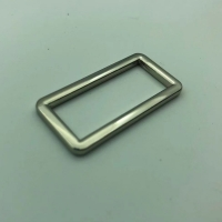 Buy cheap Silver Custom Metal Backpack Strap Adjuster Nickle Chrome Free product