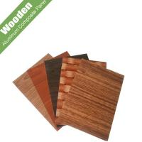 Buy cheap wooden surface aluminum plastic panel product