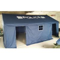 Buy cheap Blue Police Outdoor Canopy Tent High Temperature Resistant With Oxford Cloth product
