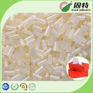China Tissue box  Sealing White Hot Melt Adhesive Pellets Ethylene Vinyl Acetate Copolymer on sale