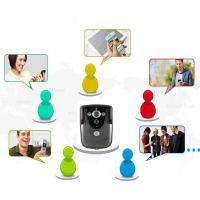 Buy cheap Black White HD WIFI Video Doorbell Camera Motion Detection With Tamper Alarm product