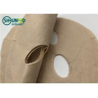 China Natural Plant Biodegradable Spunlace Non Woven Fabric For Face Mask Plain Structure on sale