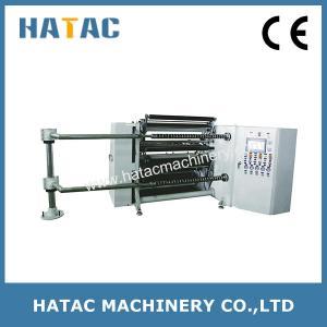Automatic Unloading Offset Paper Roll Slitting Rewinder,Scissor Blade Polyster Film Slitting Rewinding Machine