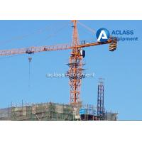 Buy cheap 65m Jib Construction Hammerhead Tower Crane 1.8t Tip Load Counter Weight product