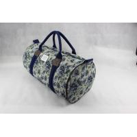 Custom Design Canvas Weekend Travel Bag , Ladies Luggage Bags For Outdoor