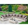 China  Corner And Fashion Rattan Sofa Set Indoor Living Room Furniture  for sale
