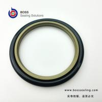Quality Single acting PTFE bronze rubber hydraulic cylinder rod seal BSJ for sale