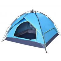 Buy cheap Quick - Opening Outdoor Camping Tent / Pop Up Camping Tent For 3 - 4 People product