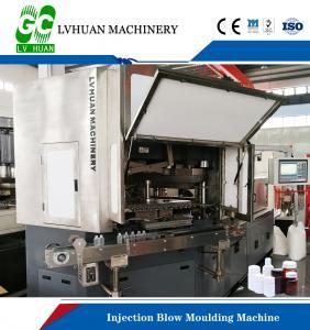 Buy cheap 8.5T Injection Blow Moulding Machine , Plastic Bottle Blow Molding Machine product