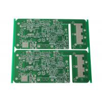 Buy cheap High Frequency Rogers 4350B Double Sided PCB For Wireless Transceiver product