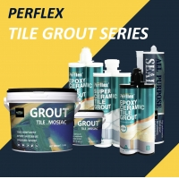 Buy cheap Sanded Glitter Ceramic Tile Grout / Sealer Article Non Yellowing product