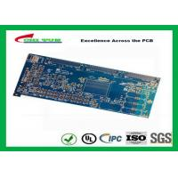 Buy cheap Blue 20 Layer Quick Turn PCB Prototypes 3.5MM Immersion Gold 0.25mm Hole product