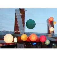 China Advertising Inflatable Lighting Decoration  , LED RGB Inflatable Pool Lights Balloon Water Floating on sale