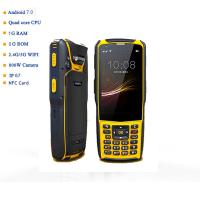 Buy cheap S5 Model IP67 Industrial Android 7.0 Handheld PDA Qr Code Scanner 1D 2D Barcode Reader for Logistics Warehouse product