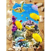 Buy cheap 5d Deep Effect Ocean Feature Images Custom Lenticular Printing For Office / Hotel Decoration product