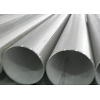 Buy cheap Strong Stainless Steel Welded Tube , JIS G3459 Standard Large Stainless Steel Tube product