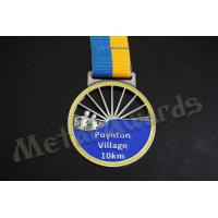 Village 10k Finisher Medals , Custom Diecast Medals For Running Events