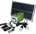 20W mini solar light kits with controller LED display solar panel with solar generator pri