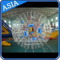 China 1.0mm PVC Transparent Used Inflatable Water Zorb For Water Pool on sale