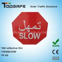 Buy cheap Aliminum Flashing Solar LED Traffic Slow Sign (TPST-S7) product