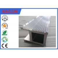 Buy cheap Natural Silver Finish 6063 T5 / T6 Industrial Aluminium Profiles For Co2 Laser Equipment product
