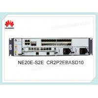 Quality Huawei NE20E Series Router CR2P2EBASD10 NE20E-S2E 2*10GE-SFP+ 24GE-SFP Fixed for sale