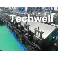 Buy cheap Steel Structure Guide Rail Cold Roll Forming Machine for Making Elevator Electrical Wiring Guide Tracks product